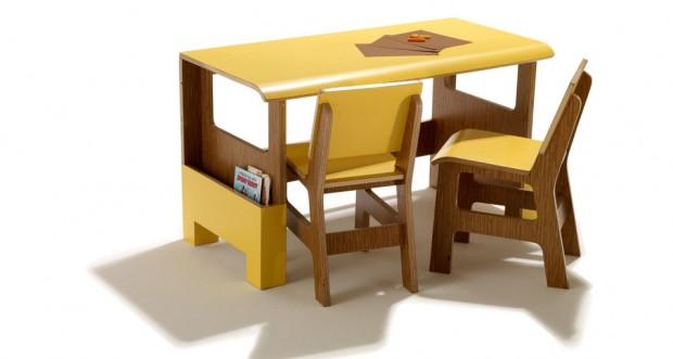 Crafty biurko dla najm odszych design designe for Mural dziewczynka z konewka