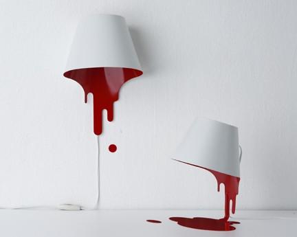 Rozlane lampy design lampa designe for Mural dziewczynka z konewka