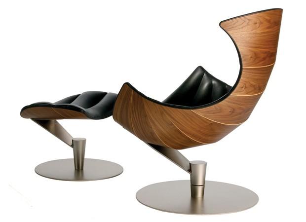 Krzes o lobster drewno i sk ra design krzes o designe for Mural dziewczynka z konewka