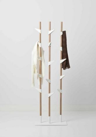 Bamboo - nowocześnie i cepło - design, wieszak
