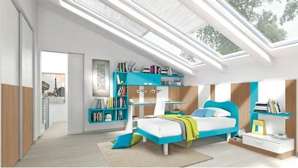 Pokój dla nastolatka według Colombini - design