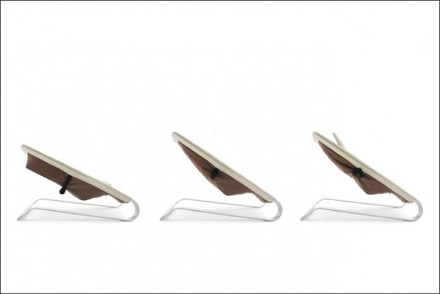 Leżaczek Bamboo - design