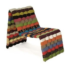 T-shirt chair - ubrany fotel - design