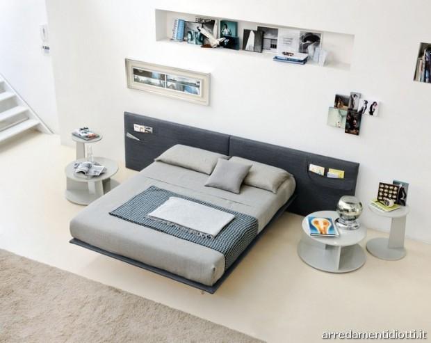 Jeansowe łóżko - design, łóżko