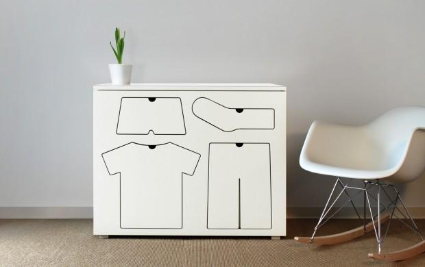 Szafka Training Dresser - design, komoda