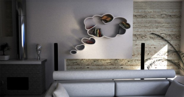 Dream - niezwykłe półki - design, półka