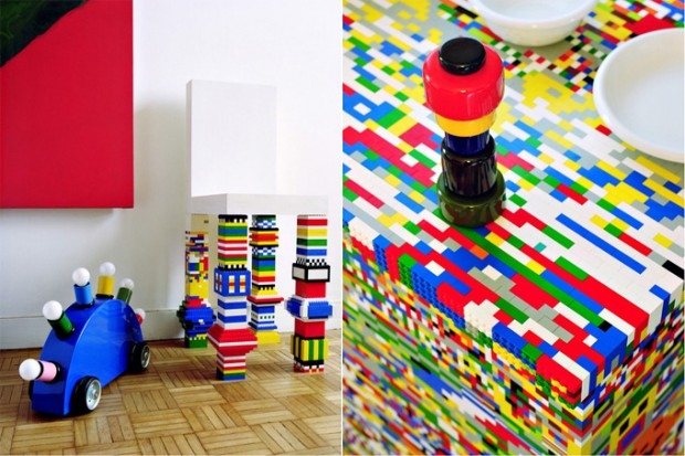 Kuchnia LEGO - design, lego