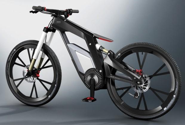 Rower AUDI - design, rower