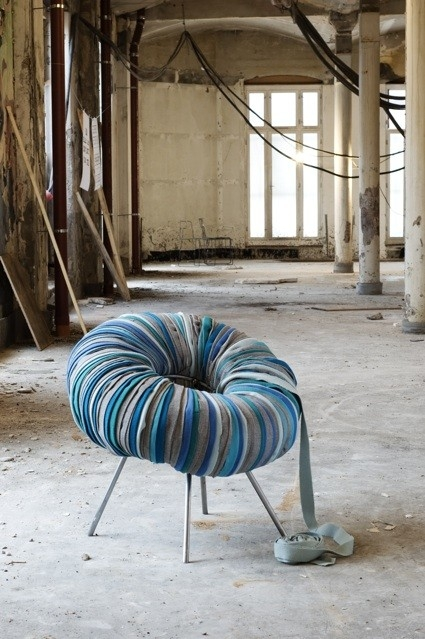 Drops - fotel i pufa - design, fotel
