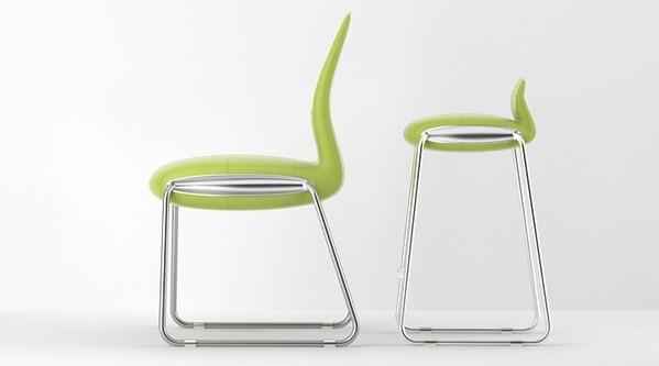 Seria Stream - design, krzesło