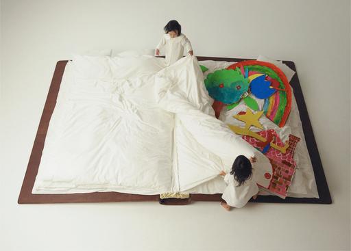Nowy wymiar spania - design, łóżko