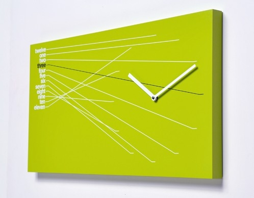Coo coo - nowoczesne zegary - design, zegar