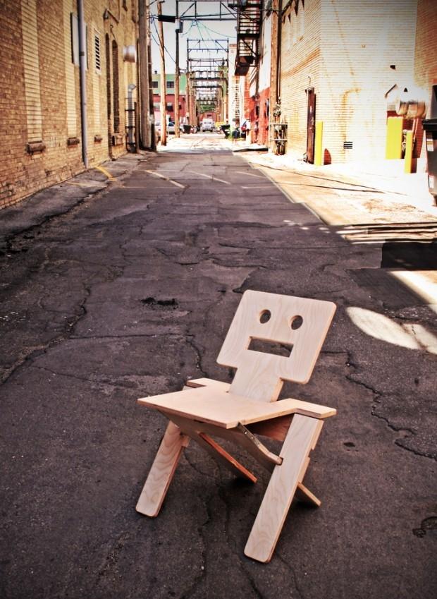 RoboChair - design, krzesło