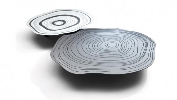 Stoliki Silver Ring - design, stolik
