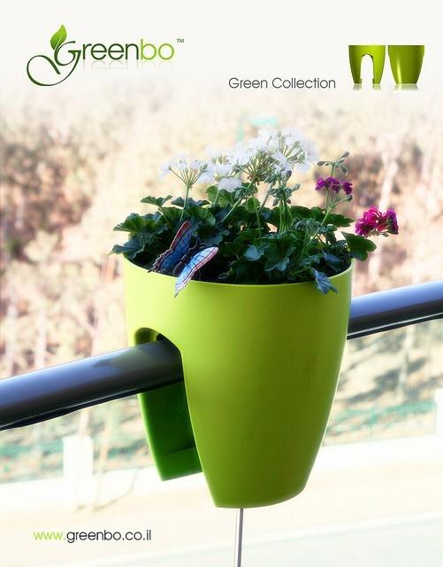 Greenbo - ciekawe donice - design, doniczka