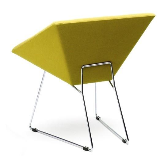 Fotel tapicerowany RM57 - design, fotel