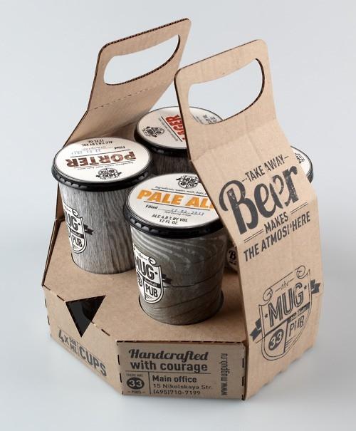 Piwo na wynos - design, opakowanie
