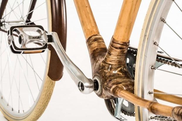 Ręcznie wykonany bambusowy rower! - design, rower