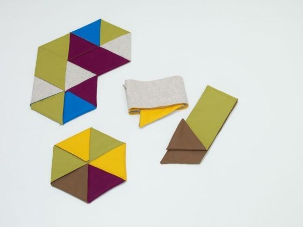 ZIP RUGS - dywany jak origami - design, dywan