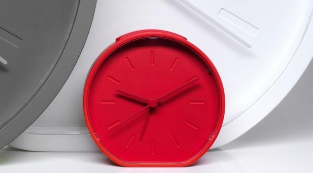 Side & Beside czyli kolorowe zegary - design, zegar