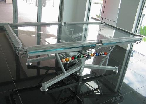 Stół bilardowy bez tajemnic - design, stół bilardowy