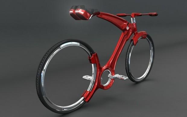 John Villarreal i jego rower przyszłośći - design, rower