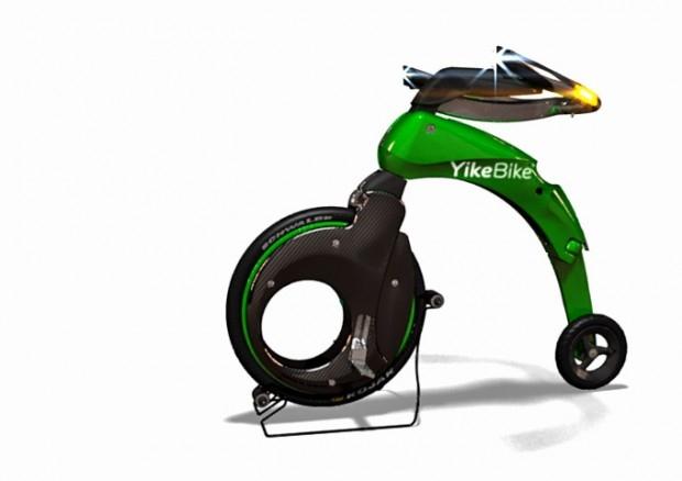 Prawie rower czyli YikeBike - design, rower