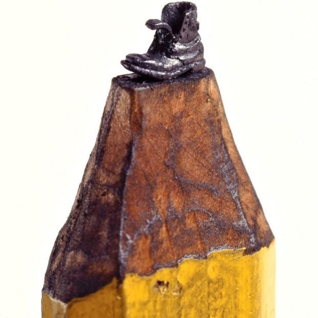 Świat w ołówku - Dalton M. Ghetti - sztuka