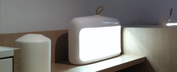 Lampa Naica - ceramiczna jaskinia - design, lampa