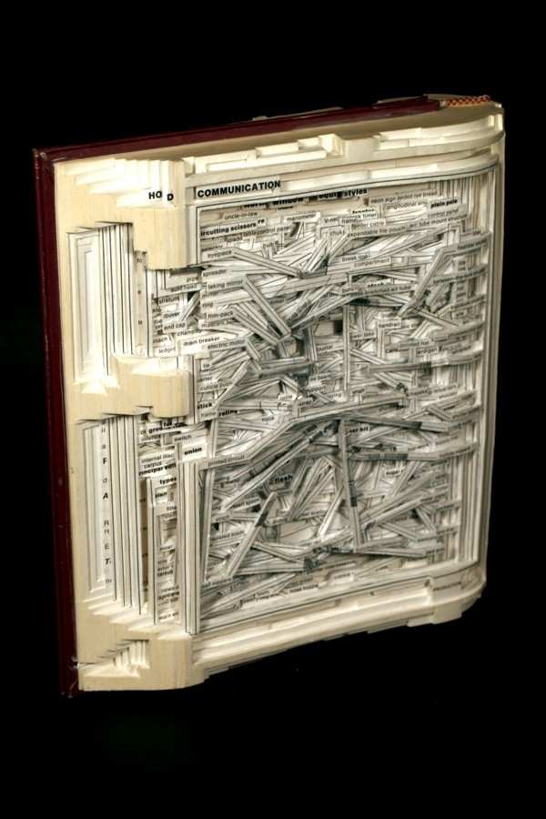 Drugie życie starych książek - sztuka
