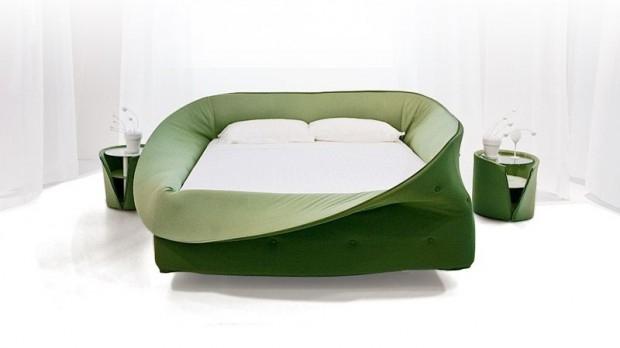 Przytulne łóżko Lago Col-Letto - design, łóżko