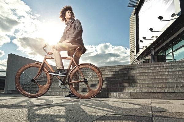 Human Bike - Jan Gunneweg i jego rower - design, rower