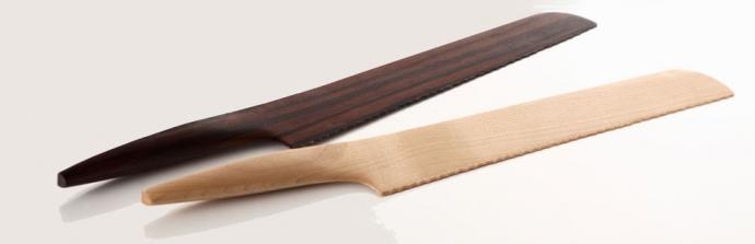Drewniane noże Fusion - Andrea Ponti - design, nóż