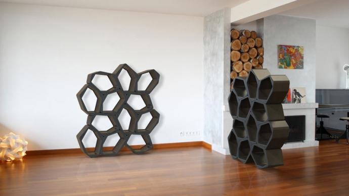 Moduły Build - wykreuj swoje wnętrze - design, regał