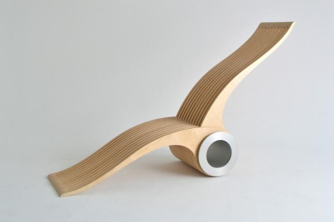 Krzesło i znacznie więcej - EXOCET CHAIR - design, krzesło