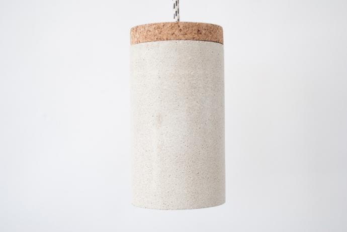 Betonowa lampa od Ubikubi - zrób to sam - design, lampa