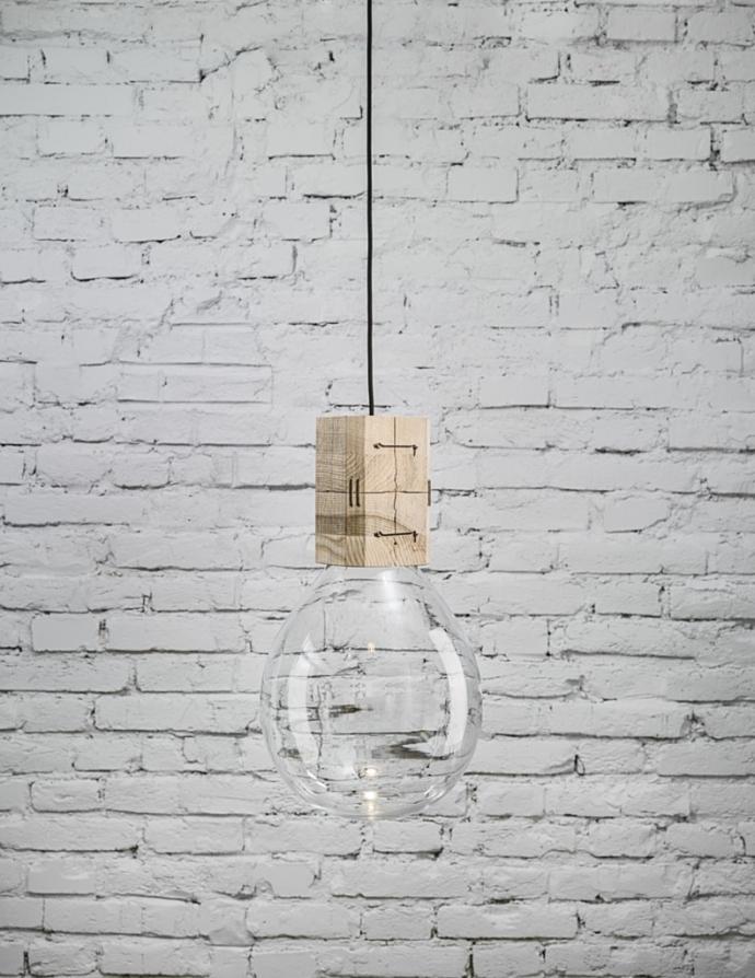Moulds, czyli szklane bańki w stylu retro - lampa, lampa wisząca
