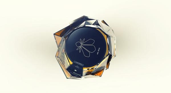 Słoik miodu BEEloved - design, opakowanie