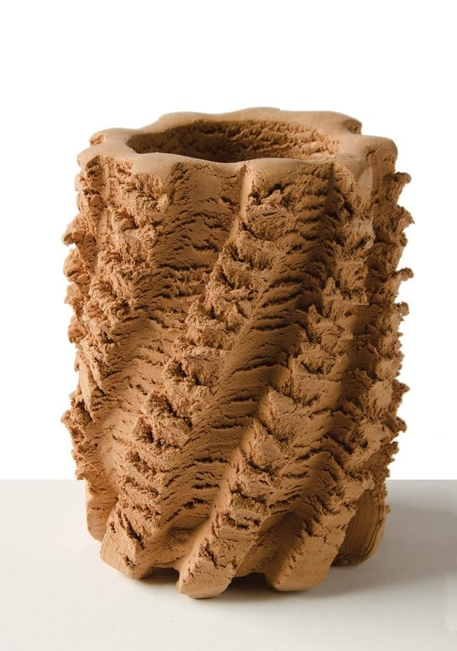 Floris Wubben, wyciskane wazony i misy z duszą - design, wazon