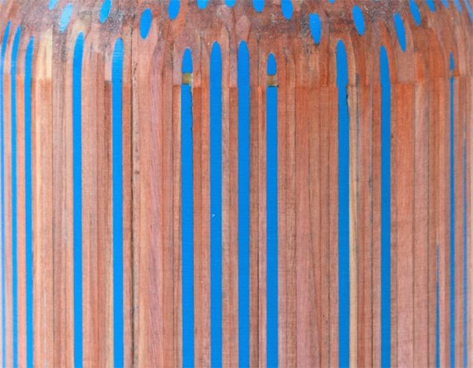 Seria Amalgamated - ołówek i kredka - design, wazon