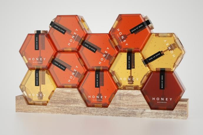 Honey Concept - słoik miodu inaczej... - design, opakowanie