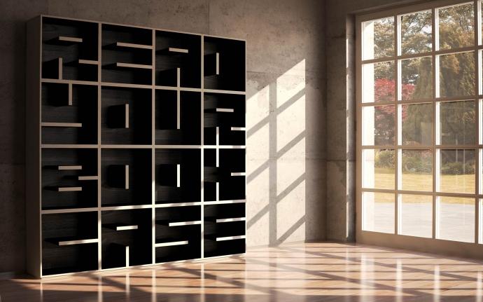Wyraź siebie regałem - ABC BookCase - design, regał