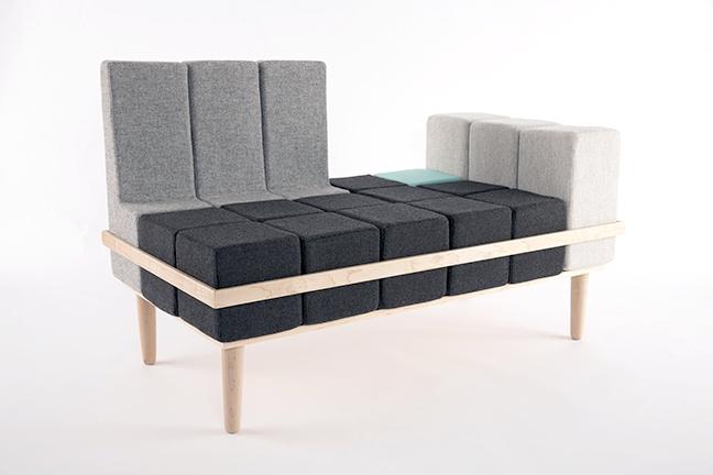 Sofa Bloc'd - Tetris w rzeczywistości - design, sofa