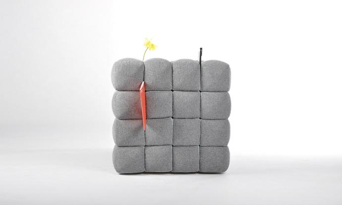 Lost In Sofa - funkcjonalny fotel - design, fotel