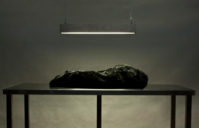 Anna Szuflicka i jej Betonówa - design, lampa