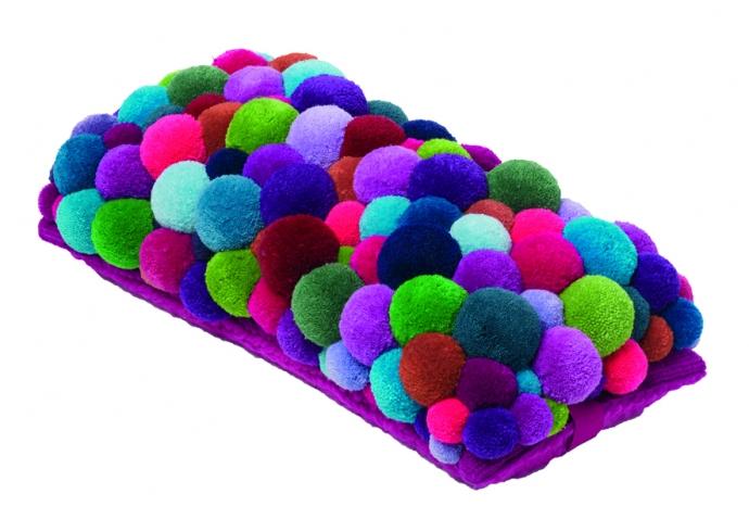 Kolorowe dodatki MYK - design, puf