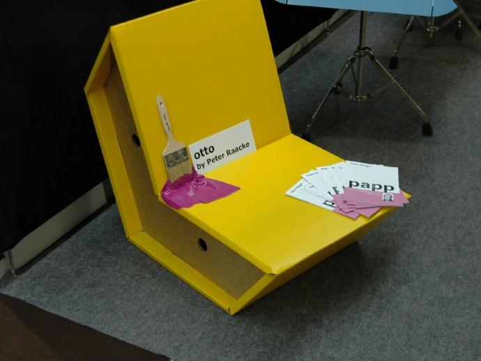 Ekologiczne krzesło Otto od pulpo - design, krzesło