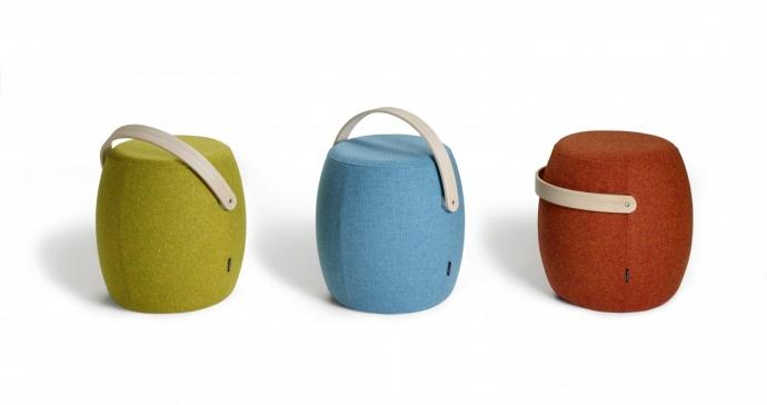 Przenośny stołek Carry On - design, stołek