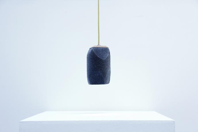 Feltology, rzeźbione lampy z filcu - design, lampa