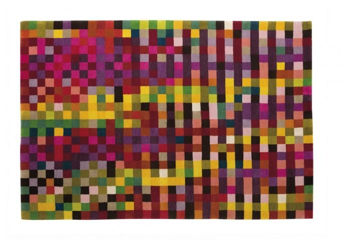 Kolekcja Digit - piksele na podłodze - design, dywan